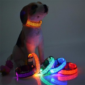 Solid-Color-Nylon-Band-font-b-Dog-b-font-Pet-Led-Flashing-Collar-font-b-Night